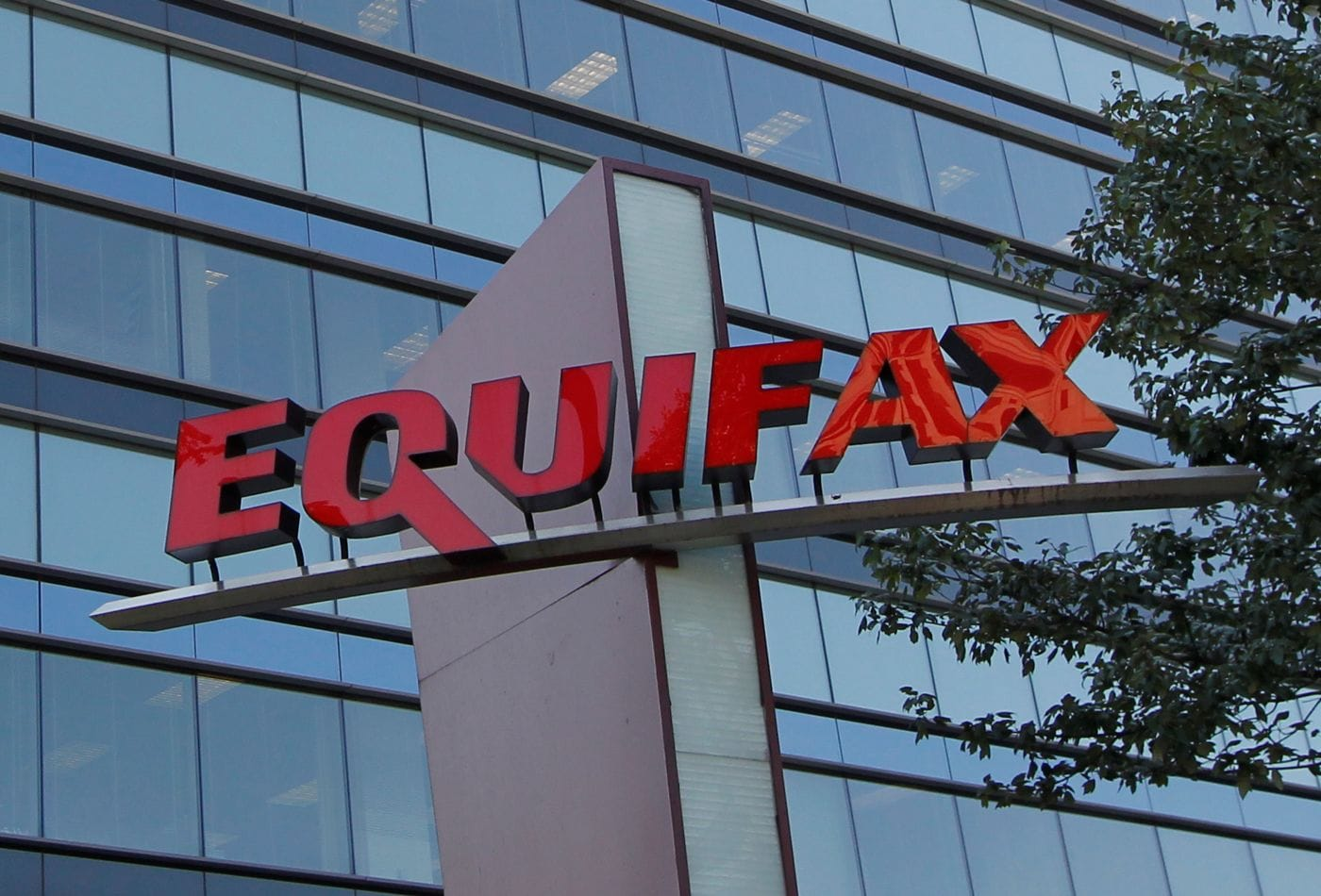 equifax data breach what happened. a view of Equifax building