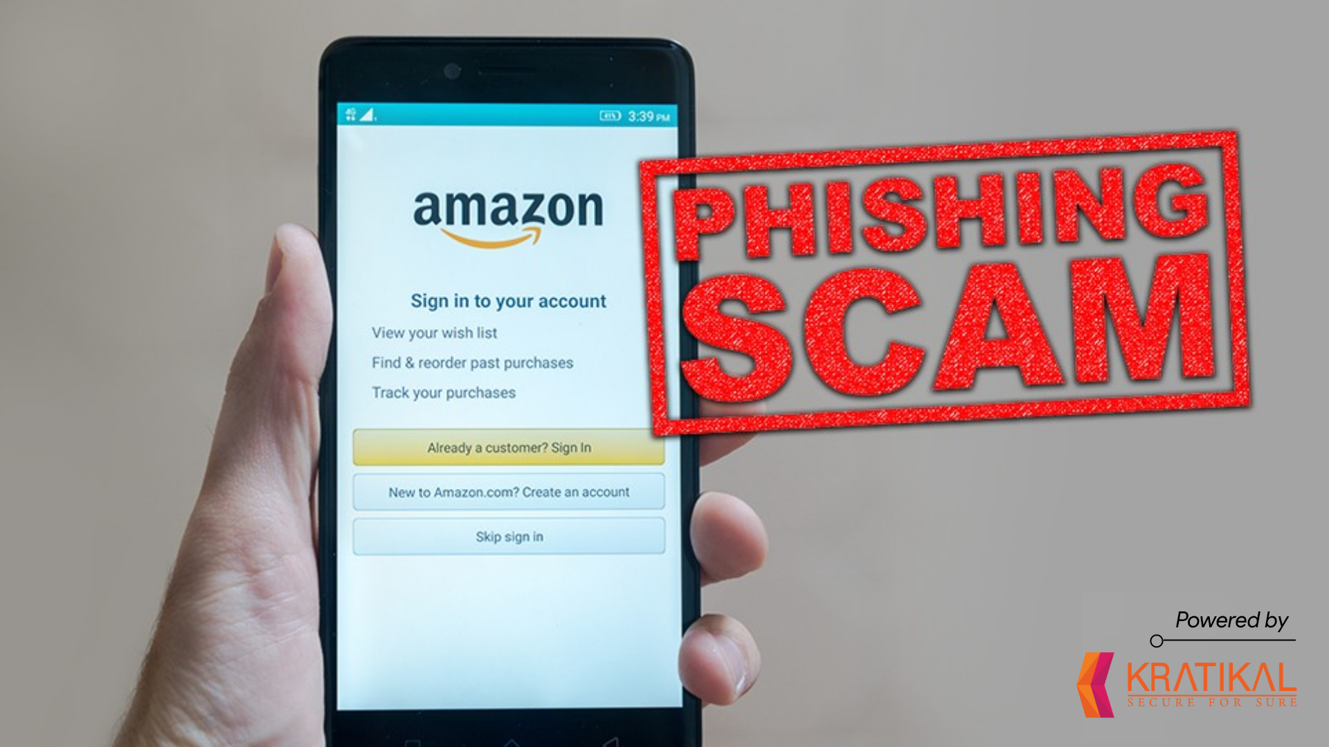 Amazon Phishing Scam, one of the most active cyberattacks.