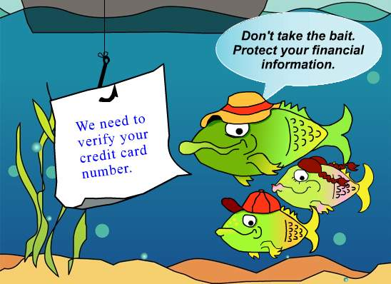 Phishing is a common type of social engineering