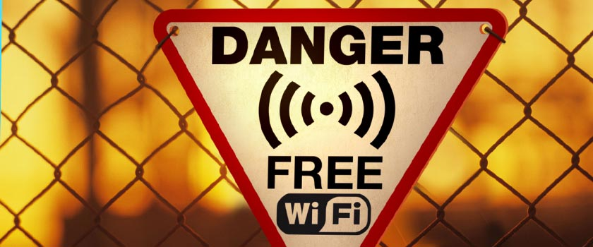 Email security: Never fall for free WiFi