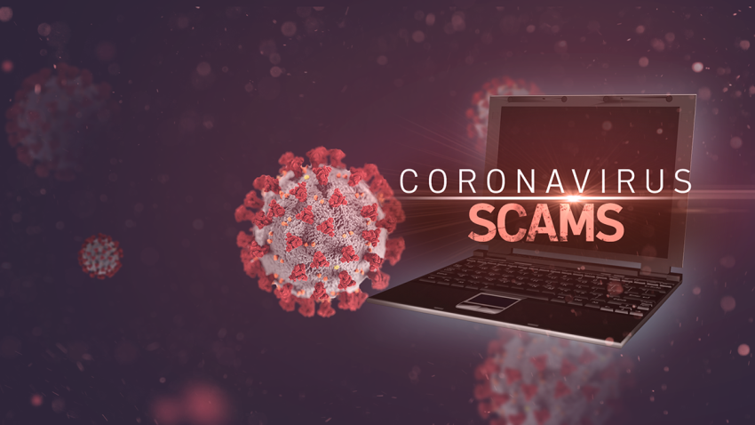 COVID-19 themed cyber scams
