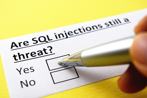 SQL injections are still security threats!