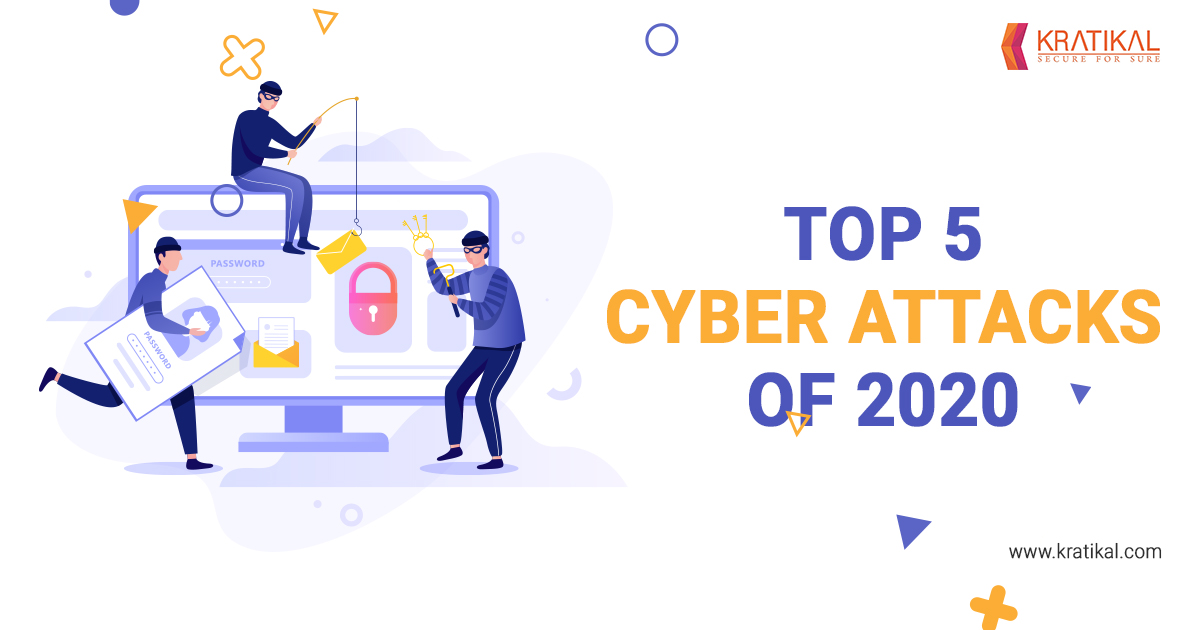 Top 5 Cyber Attacks of 2020