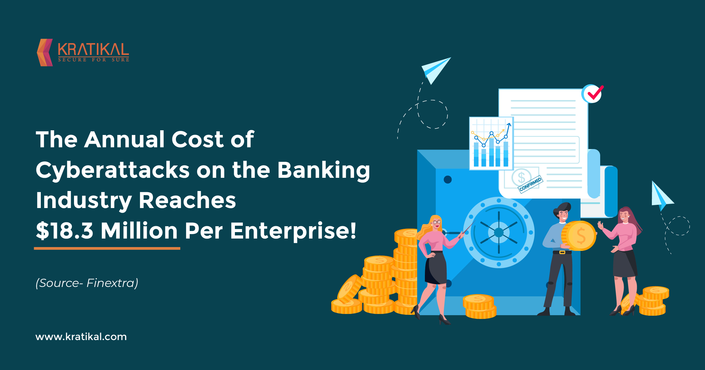 The Annual Cost of Cyberattacks on the Banking Industry Reaches $18.3 Million Per Enterprise! (1)