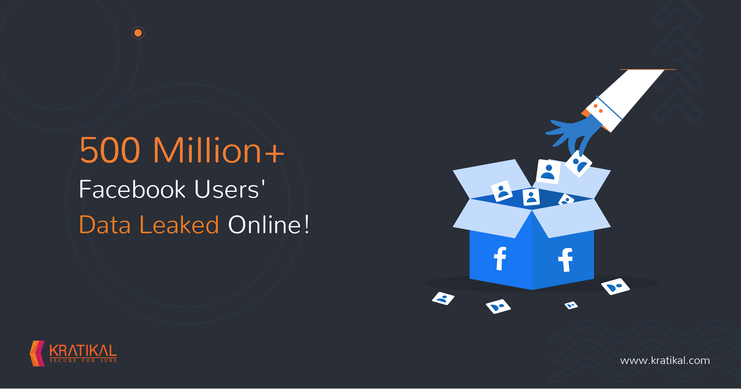 500 Million+ Facebook Users' Data Leaked Online!